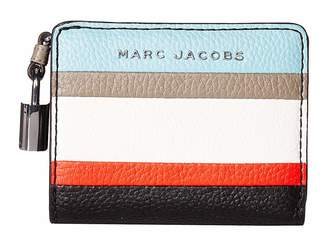 Marc Jacobs The Grind Color Blocked Mini Compact Wallet