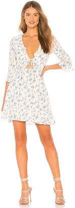 For Love & Lemons X REVOLVE Tie Front Mini Dress
