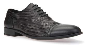 Geox Bryceton Textured Cap Toe Oxford