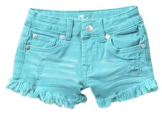 """7 For All Mankind 2\"""" Solid Shorts (Little Girls)"""