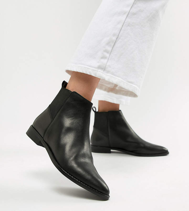 Asos Design ASOS DESIGN Atom leather chelsea boots