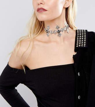 Swarovski Regal Rose Maria Black Crystal Necklace