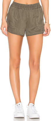 Soft Joie Delavina Shorts in Green $128 thestylecure.com