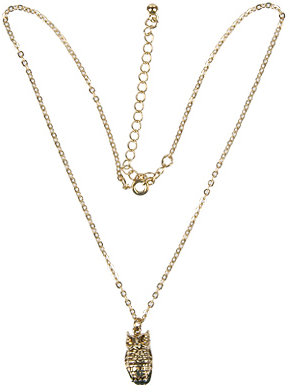 H81 Owl Charm Necklace