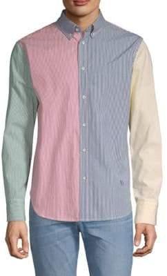 Rag & Bone Tomlin Striped Button-Down Shirt