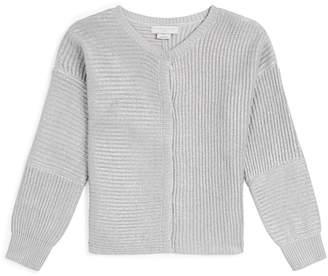 Stella McCartney Metallic Knit Cardigan