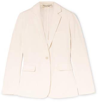 Nili Lotan Jania Cotton-gabardine Blazer - Cream