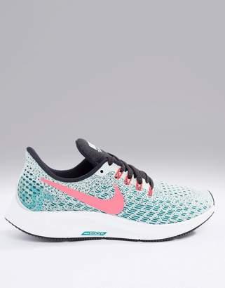 Nike Running Air Zoom Pegasus Trainers In Mint