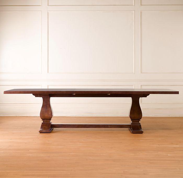 Camden Extension Trestle Table
