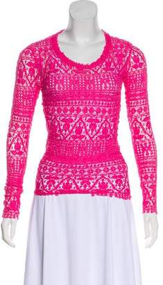 Isabel Marant Long Sleeve Open-Knit Top w/ Tags