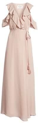 BB Dakota Don't Call Me Baby Cold Shoulder Wrap Dress