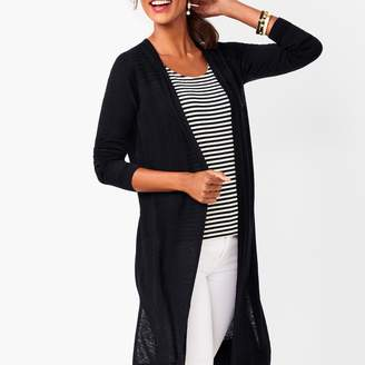 Talbots Lightweight Duster - Solid