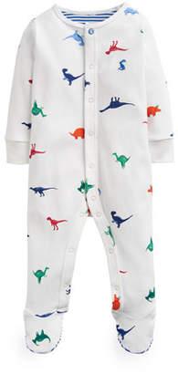 Joules Ziggy Dino-Print Footie Pajamas, Size 0-12 Months