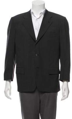 Kiton Glen Plaid Wool Blazer