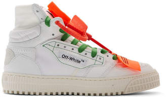 Off-White Off White White Off Court 3.0 High-Top Sneakers