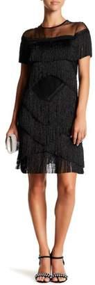 Gracia Fringe See-Through Dress