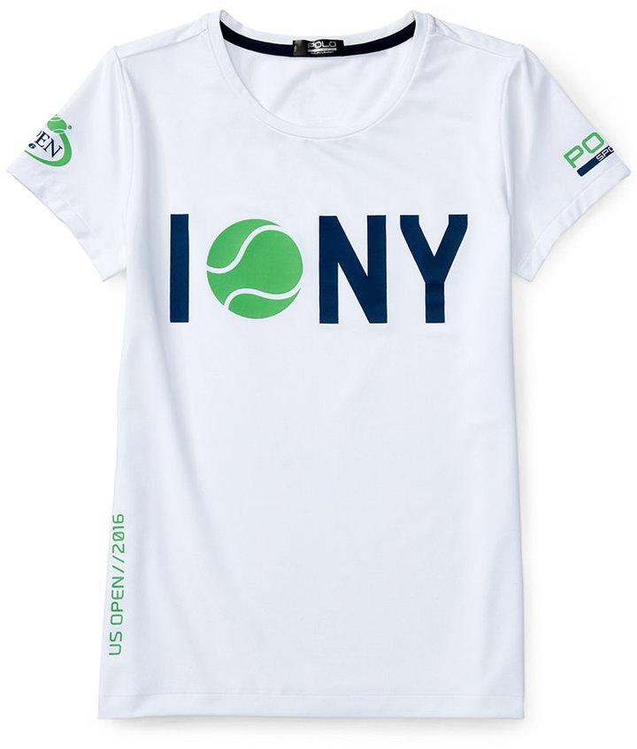 Ralph Lauren Toddler & Little Girls' US Open NY T-Shirt