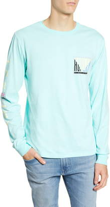 Hurley Tri Gron Color Change Premium Long Sleeve T-Shirt