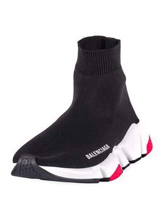 Balenciaga Speed High-Top Stretch Sock Sneaker