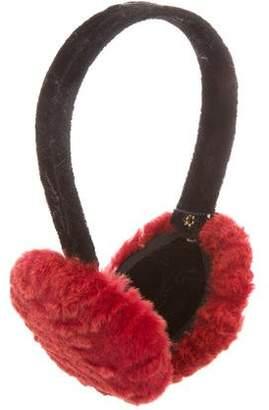 Oscar de la Renta Astrakhan Fur Earmuffs w/ Tags