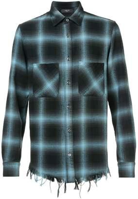 Amiri plaid flannel shirt