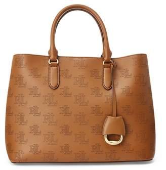 Ralph Lauren Large Leather Marcy Satchel