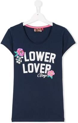 Vingino TEEN flower appliqué T-shirt