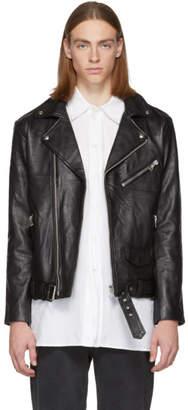 Stolen Girlfriends Club Black Leather Joey Biker Jacket