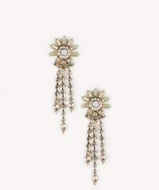 Sole Society Womens In Color: Crystal Fan Drop Earrings One Size From Sole Society 2mdIyGwm