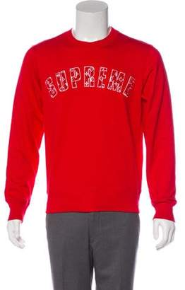 Louis Vuitton x Supreme 2017 Arc Logo Sweatshirt red x Supreme 2017 Arc Logo Sweatshirt