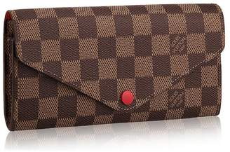Louis Vuitton Canvas Portafoglio Josephine Wallet Article:N63543