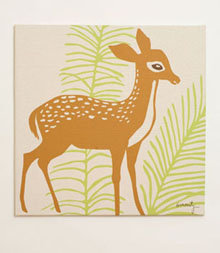 Amenity Deer Stretched Print