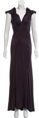 Marc Jacobs Silk Sleeveless Maxi Dress