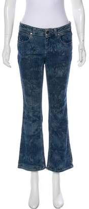 Stella McCartney Patterned Mid-Rise Jeans