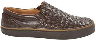 Bottega Veneta Brown Leather Trainers