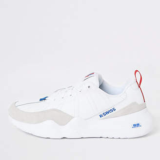 White CR 329 chunky trainers
