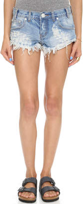 One Teaspoon Hustler No 2s Shorts $99 thestylecure.com