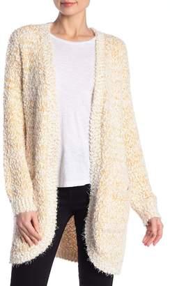 Peach Love California Textured Knit Cardigan