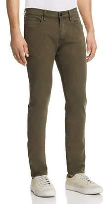 Hudson Axl Skinny Fit Jeans in Fatigue Green