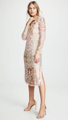 Needle & Thread Tiled Sequin Dress