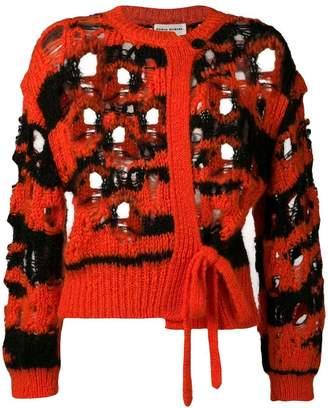 Sonia Rykiel loose knit cardigan