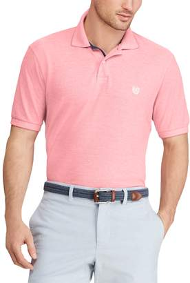 Chaps Big & Tall Classic-Fit Birdseye Polo