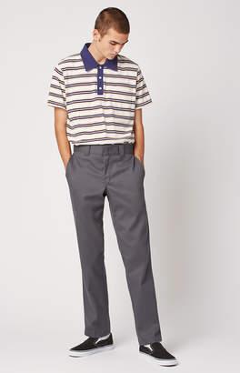 Dickies Slim Fit Tapered Leg Gray Work Pants