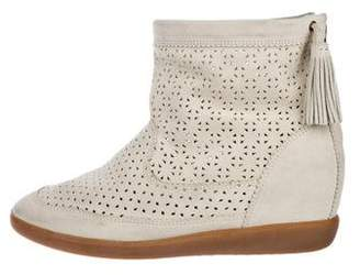 Isabel Marant Laser Cut Ankle Boots w/ Tags