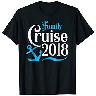 Family Cruise 2018 Fun Boat Vacation Group Matching T-Shirts