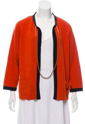 Chanel Cashmere Chain-Link Cardigan