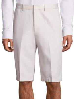 Vince Relaxed-Fit Cotton Linen Shorts