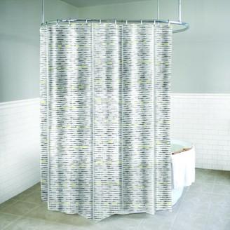 "Splash Home Chartreuse PEVA Shower Curtain, 72"" x 70"", Yellow"