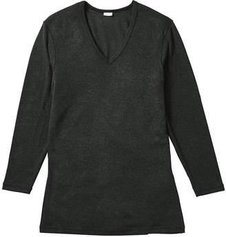 Bros. (ブロス) - [ブロス]プレミアムサーモ 深V首長袖シャツ