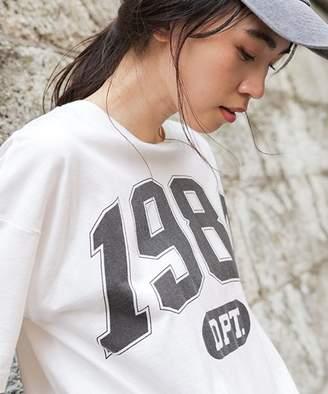 niko and (ニコ アンド) - デカカーブロゴTシャツ
